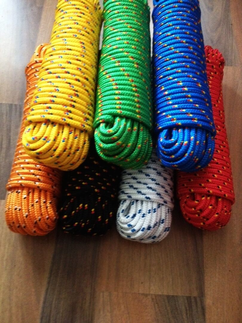 Rope,Expander rope,Flat rope,Plastic cord 4-16 mm, 30m,Ropes,Ribbons,Cords
