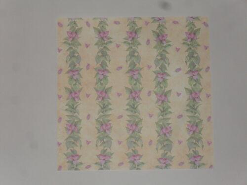 Argent 6 diapositive de perles de verre rectangles 12x8 mm LILAS Ad7-07