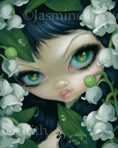 Poisonous Beauties 11 Lily of the Valley Jasmine Becket-Griffith CANVAS PRINT