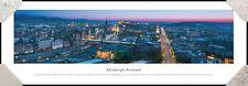 Edinburgh, Scotland City Night Skyline Edinburgh Castle Framed Poster Picture I