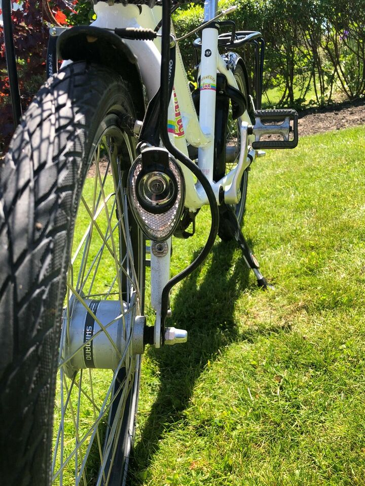 Pigecykel, citybike, Living