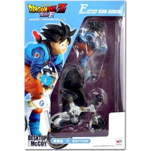 DRAGON BALL Desktop Real McCoy Son Goku F Edition Figure Statue Megahouse
