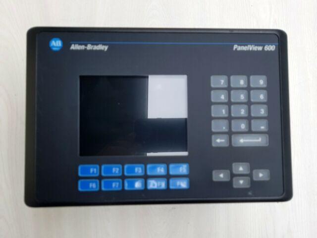 Allen Bradley  PanelView 600  2711-K6C1  Ser C,   FRN 4.46