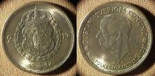 Sweden : 1947  2 Kr Gem BU  Beautiful    #815   IR4140