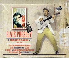 2007 PRESS PASS ELVIS PRESLEY,THE MUSIC, TRADING CARD 24 PK.BOX-POS.ELVIS AUTOS