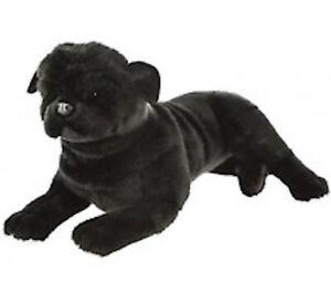 BOCCHETTA-PUG-DOG-Bandit-44cm-black-plush-soft-toy-NWT