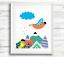 Scandinavian-Woodland-Animal-Prints-Wall-Art-for-Scandinavian-Nursery-Kids-Room thumbnail 4