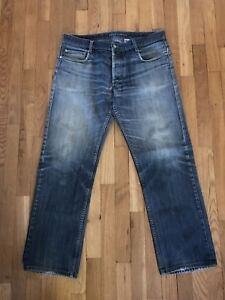 Marc-by-Marc-Jacobs-Men-039-s-Straight-Leg-Jeans-Button-fly-36x30