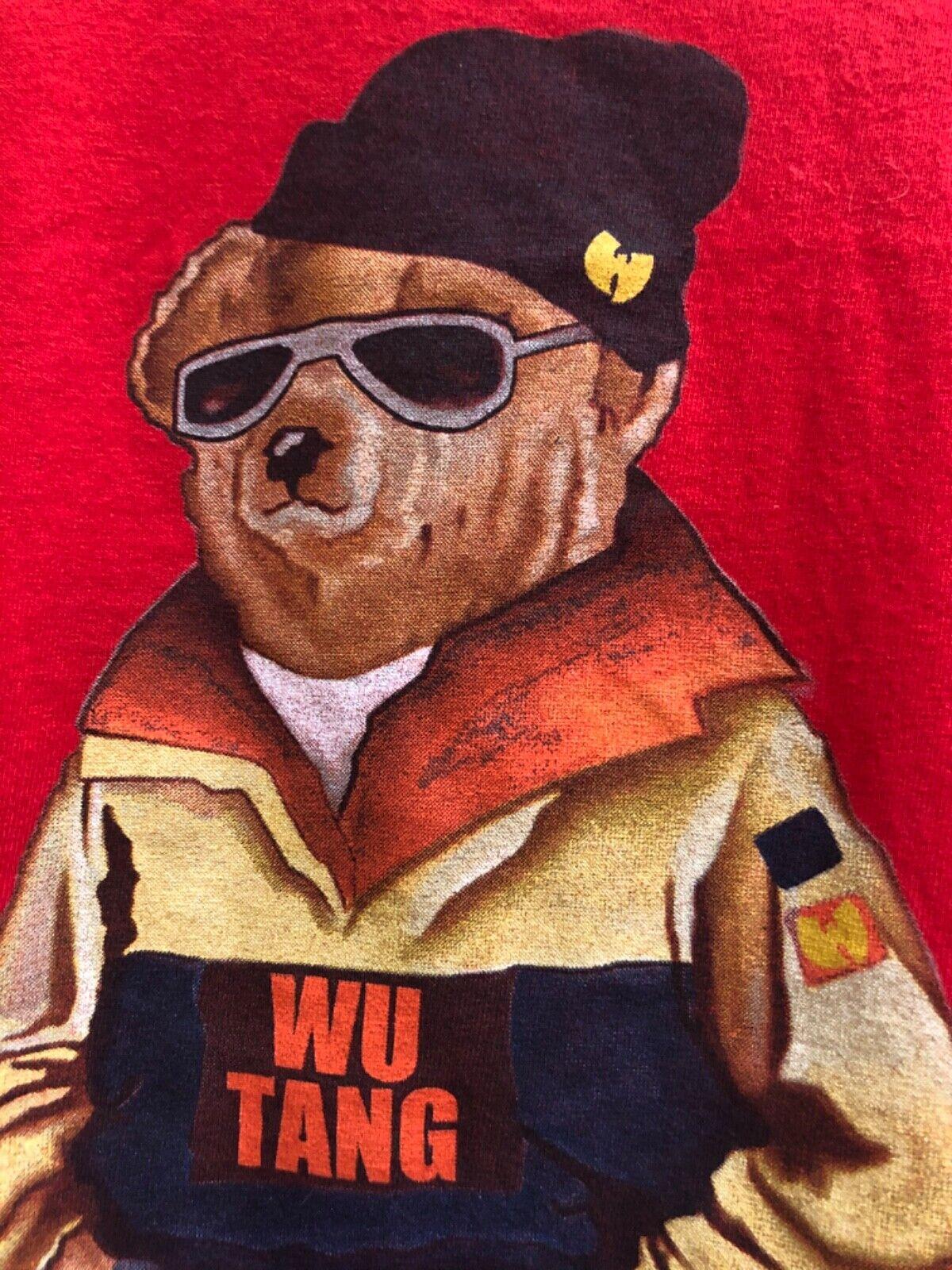 Vintage Wu Beach Wu Tang Wear Polo Bear Ralph Lau… - image 1