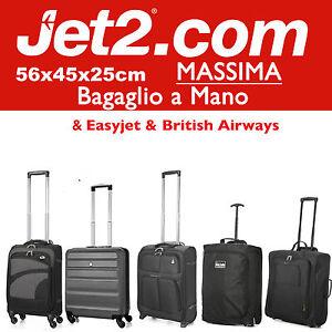 4953b14b97 ... JET-2-56x45x25cm-MASSIMA-Grande-Cabina-Bagaglio-a-. Immagine non  disponibile Foto non disponibili per questa variante