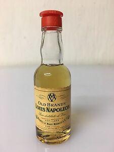 Mignon-Miniature-Old-Brandy-Louis-Napoleon-Dist-V-Mugnetti-30cc-40-Vol