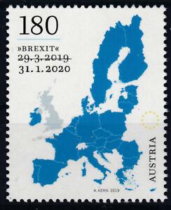 AUSVERKAUFT-Brexit-Stamp-Sondermarke-der-Osterreichischen-Post-Postfrisch