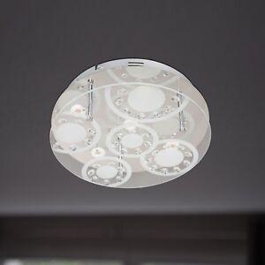 WOFI-lampara-LED-de-techo-lore-5-LLAMAS-CROMO-Vidrio-Cristal-Rendondo-15-vatios