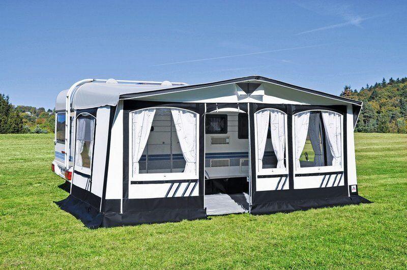 Hahn Vorzelt Texel 240 Gr. 06 Dauerstandzelt Zelt Wohnwagen Camping