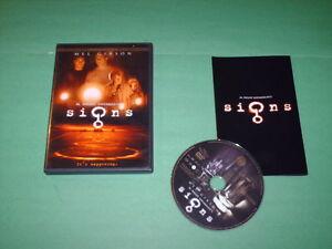 Signs (DVD, 2003)