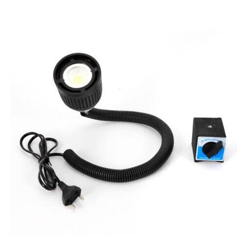 5W Nähmaschine Licht Schwanenhals Arbeitslampe mit magnetischem festem Sockel