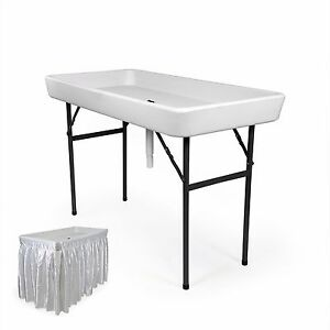 4 Foot Recpro Cooler Ice Table Party Ice Plastic
