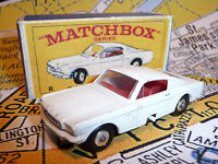 Matchbox Lesney Series 8 Mustang, Lovely Nice