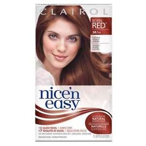6 Clairol \'n Easy #5r/111 Natural Medium Auburn Permanent Hair Color Dye