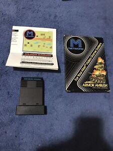 Atari 2600 Armor Ambush Game Box & Manual Complete In Box CIB Tested