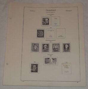 Copieux Kabe-formulaires République Fédérale D'allemagne 1949-1970 Sans Poches-afficher Le Titre D'origine