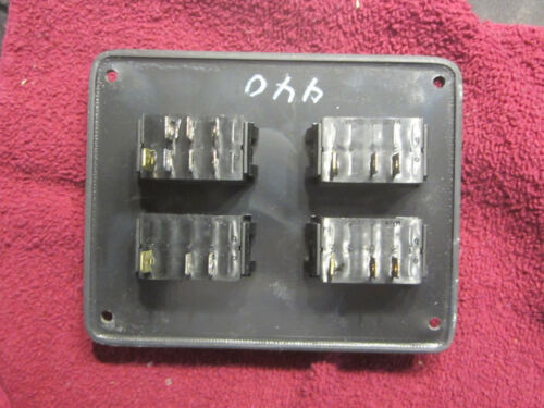 LIGHTED 4-SWITCH PANEL P# 440
