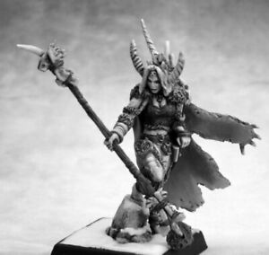 1x NADEZHDA the WHITE - WARLORD REAPER miniature figurine rpg jdr sorciere 14647