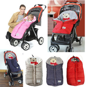 Image Is Loading Baby Footmuff Pushchair Pram Stroller Cot Bed Car