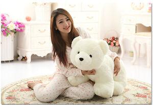 Big Plush Polar Bear Toys Giant Large Teddy Stuffed Soft Plush Doll
