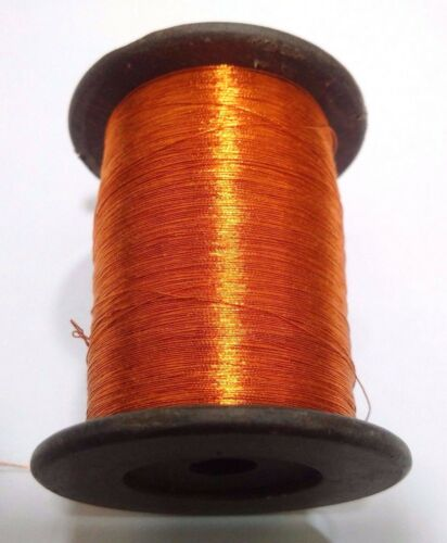 Metallic Thread Yarn Spool Crochet Sewing Embroidery Handwork Artwork Jewelry
