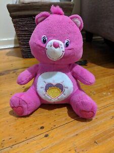 Care-Bear-Plush-7inch-Sitting-2009-Shine-Bear-Toys