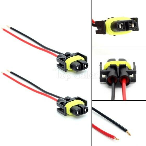 880 881 h11 female plug wiring harness sockets wire for headlights880 881 h11 female plug wiring harness sockets wire for headlights or fog lights ebay