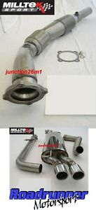 Milltek-Bora-1-8-Turbo-Exhaust-Turbo-Back-Non-Res-Inc-Downpipe-Sports-Cat-Twin