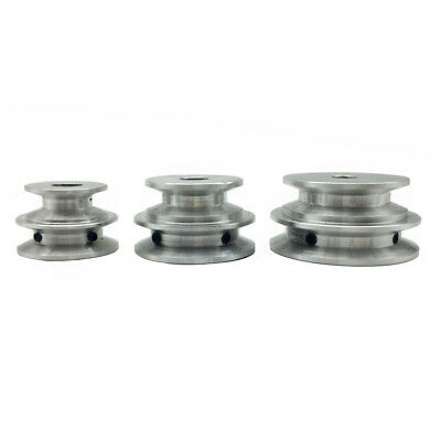 40mm OD 10mm Bore V Groove 2 Step Pulley for Belt 3//8