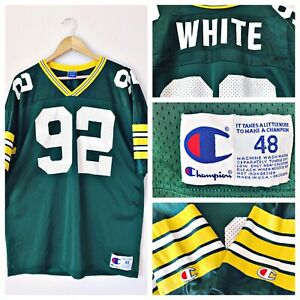 501ac0aa Details about Green Bay Packers Vintage Champion Reggie White 92 Jersey  Mens XL 48 MINT USA