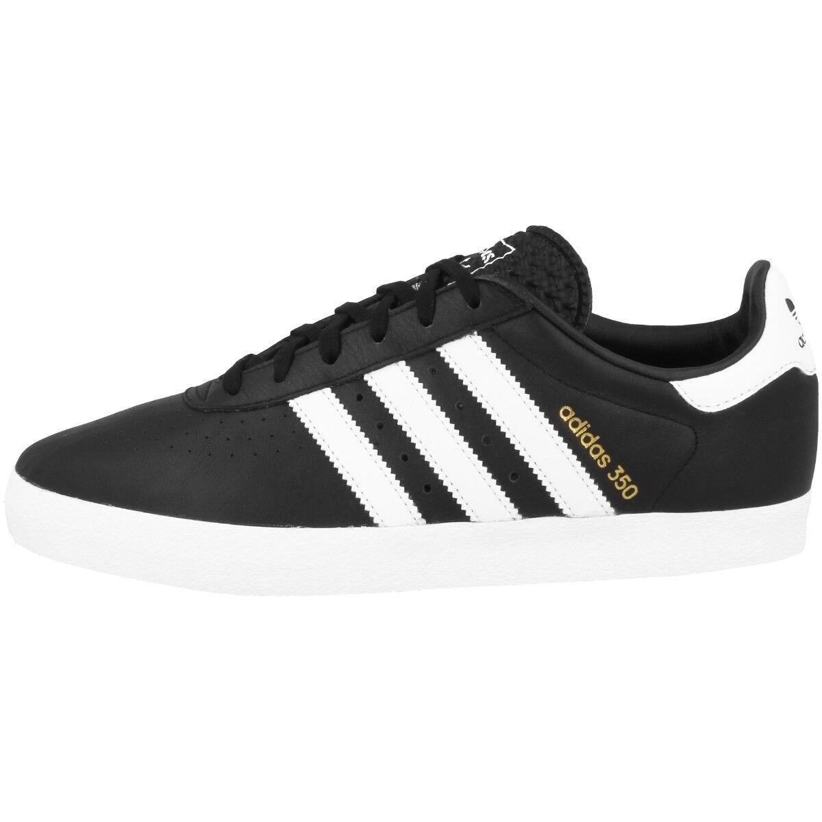 Adidas 350 Schuhe Originals Retro Freizeit Sport Turnschuhe schwarz Weiß CQ2779