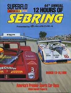 1996-Sebring-12-Hr-Race-Program-Taylor-Van-der-Poele-Pace-Oldsmobile-RS-Wins