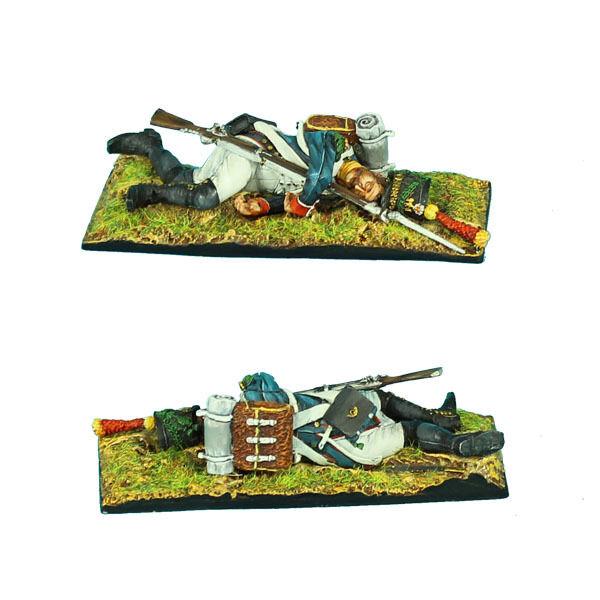 NAP0347 Franska 18 e infanteriet Dead Voltigur av First Legion
