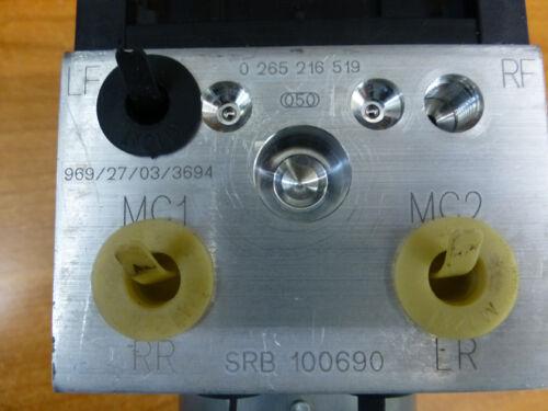 ROVER 25  ABS MODULATOR AND ECU BRAND NEW SRB101210 BOSCH 0-265-216-684