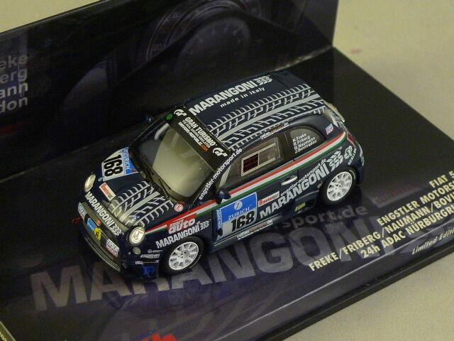 MINICHAMPS 437081268 - FIAT FIAT FIAT 500 24h Nurburgring 2008 N°168 c13d3a