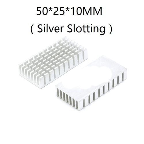 Multi-Size Choice New Aluminum Heatsink Cooling Fin Heat Sink 38mm to 200mm