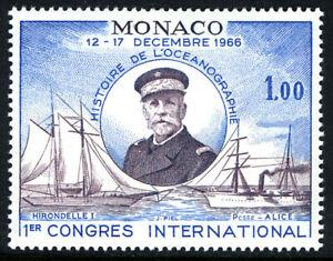 Monaco 641, MNH. Prince Albert I, Yachts Hirondelle I and Princess Alice, 1966