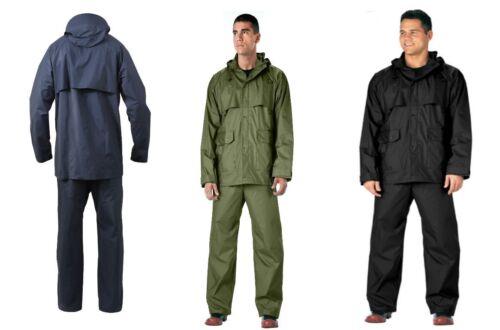 Rotcho Microlite Durable 2 Piece PVC Lightweight Rainsuit