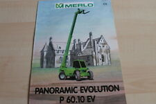 127592) Merlo Panoramic Evolution P 60.10 EV Prospekt 07/1999