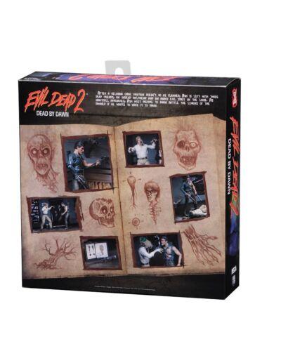 "7/"" Hero Ash /& Evil Ed 2-Pack Action Figures-NEC41966 Ash vs Evil Dead"