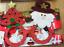 Santa arbre de Noël Lunettes Rouge Nouveauté Noël Cadre Soirée Robe Fantaisie Accessoire