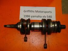 86 87 85 XLV YAMAHA EXCEL V 5 540 SRV nice crankshaft crank shaft bearings rods