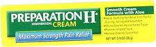 Preparation H Cream Max Strength 0.9oz