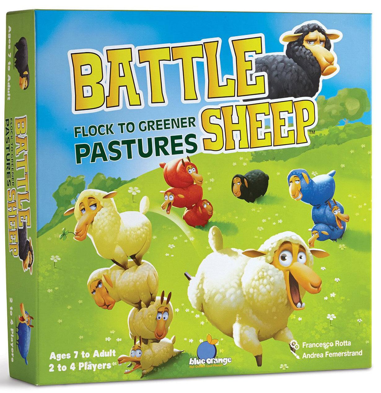 Battle Sheep - Tout Nouveau pour Enfants Jeu de Plateau de Stratégie