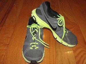 1c782734858d6 Nike Men s Downshifter 5 Running Shoe 538257-024 Dark Grey Neon ...